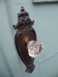 Vintage Glass Door Knobs | Med Art Home Design Posters