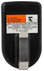 genie intellicode git 1 g2t 1 one on garage door opener remote 33069r genie intellicode git 1 g2t 1 one on garage door opener