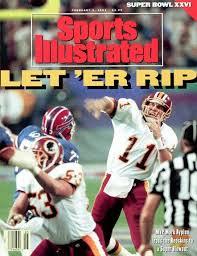 Mark Redskins Of The 1992 Bowl Rypien Super