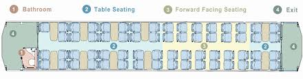 Alpine Valley Detailed Seating Chart With Seat Numbers On Board The Tranzalpine The Great Journeys Of New Zealand
