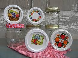 Mason Jars With Decorative Lids 100 Vintage Kerr Fruit Embossed Preserving Canning Mason Jars 59