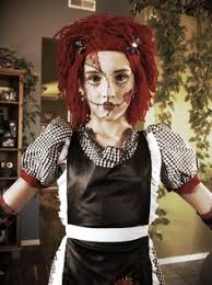 rag doll make up