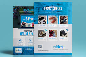 Design Corporate Product Promotional E Commerce Business Flyer Poster