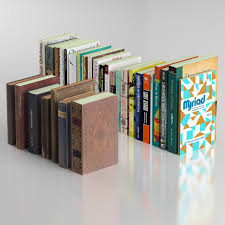 30 books collection include 7 old books 3d model in household items 3dexport