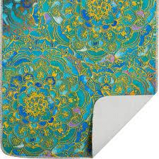 <b>Набор ковриков для ванной</b> комнаты Shangri la цвет синий в ...