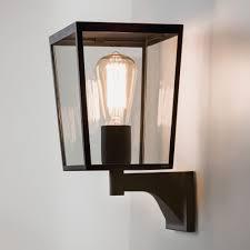 Astro Astro Farringdon Black IP Exterior Wall Light Exterior - Black exterior light fixtures