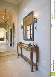hall console table with mirror. Antique Console Table With Mirror In Hallway Hall
