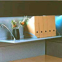 office cubicle shelves. Accessorize With Cubicle Office Desk Blue Colored Wall White Curved Side Metal Shelf Document Racks Shelves F