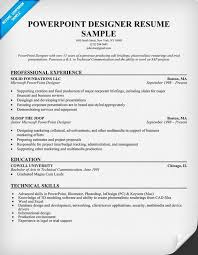 powerpoint designer resume sample resumecompanioncom unigraphics designer resume