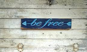 wooden word wall art be free arrow wall art decor hand painted wood word sign for on hand painted wood wall art with wooden word wall art be free arrow wall art decor hand painted wood