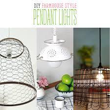 cottage pendant lighting. DIY Farmhouse Style Pendant Lights Cottage Lighting U