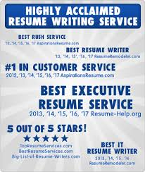 Best Executive Resume Writer