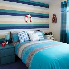 children s room with nautical striped wallpaper childrens wallpaper photo gallery style at home