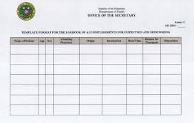 log book template template for logbook ambulance mgt system