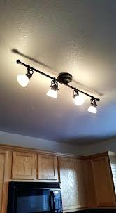 replace track lighting how to replace a fluorescent light with a track light tutorials lights and kitchens replace track lighting with chandelier