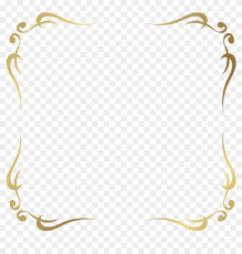 Free Png Download Decorative Frame Border Clipart Png