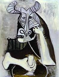 pablo picasso the king of the minotaurs 1958