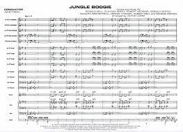 Jungle Boogie Jazz Ensemble Big Band Young Bands