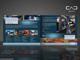 Serious Bold Industrial Brochure Design For A Company By
