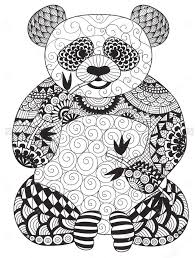 Small Picture 25 Panda coloring pages Pinterest