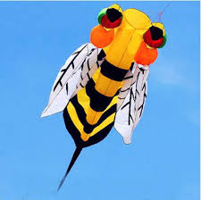 <b>free shipping high quality</b> 3m soft bee kite with handle line outdoor ...