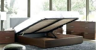 Flat Platform Bed Frame Queen. King Platform Bed With Headboard ...