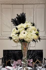 Art Deco Wedding Centerpieces Gatsby Party Ideas Google Search Wedding Decor Pinterest