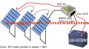 convert smps into a solar charger circuit electronic circuit how to convert smps adapter into a solar charger circuit