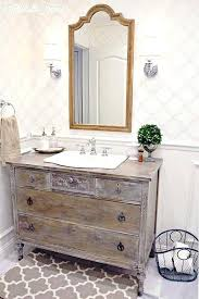 shabby chic bathroom vanity