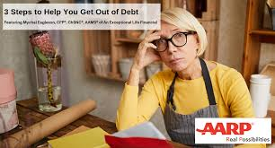 Aarp Weight Chart Aarp Bulletin Feature 3 Steps To Help You Get Out Of Debt