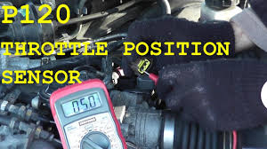 how to test and replace the throttle position sensor tps p0120 how to test and replace the throttle position sensor tps p0120