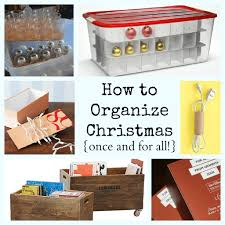 Storage For Christmas Decorations Declutter And Organize Everything Challenge Making Lemonade