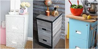 Cute Filing Cabinet 9 Filing Cabinet Makeovers New Uses For Filing Cabinets