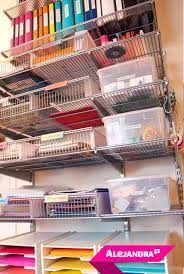 organizing office space. Home Office Organizing Idea: Organize Supplies Vertically To Maximize Space In A Small G