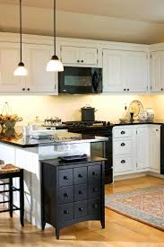 kitchens with white cabinets and black appliances. How To Decorate A Kitchen With Black Appliances Farmhouse Idea In White Cabinets Kitchens And