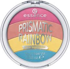 prismatic rainbow glow highlighter