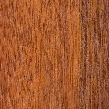 wood garage door sample in meranti with teak