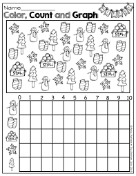 Christmas Graphing Worksheets for First Grade   Homeshealth.info