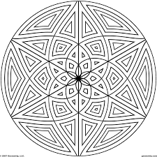 Small Picture Geometric Design Coloring Pages Coloring Pages Online