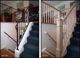 replace stair railing. Fine Replace Wrought Iron Replacement  To Replace Stair Railing U