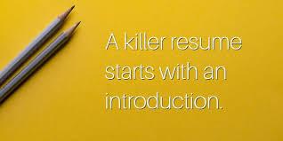 how to write a resume summary