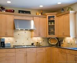 Kitchen Colors With Light Wood Cabinets Cool Inspiration