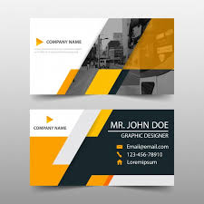 business card template designs orange business card template design vector free download