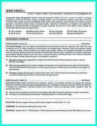 Resume Project Manager Resume Sample Writing Guide Best Examples Of