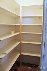 To reinforce the back corner where the two shelves meet, we used a 2x2  piece of wood. The shelves are attached to the 2x2 with metal L-brackets,  ...