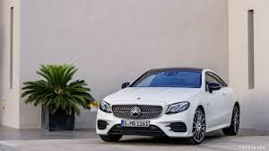 2018 mercedes e class white. 2018 mercedes-benz e-class coupe edition 1 amg line night package (color: designo kashmir white magno) - front three-quarter wallpaper mercedes e class