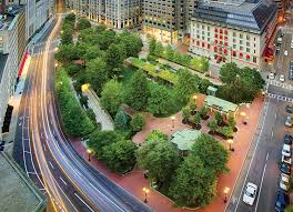 square designed offices. Ramps For The 1,400 Car Garage Are Camouflaged By Walls And Plantings. Square Designed Offices N