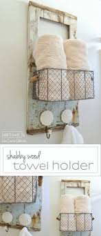 towel holder ideas. 52 Awesome Shabby Chic Decor DIY Ideas \u0026 Projects Towel Holder