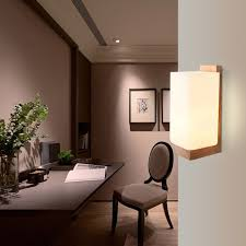 mingben led wall lamp indoor modern surface mounted cube led wall light indoor lighting bracket lamp stair lights e27 socket in wall lamps from lights