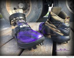 lebron cleats football. terrell suggs has custom lebron cleats!! lebron cleats football l